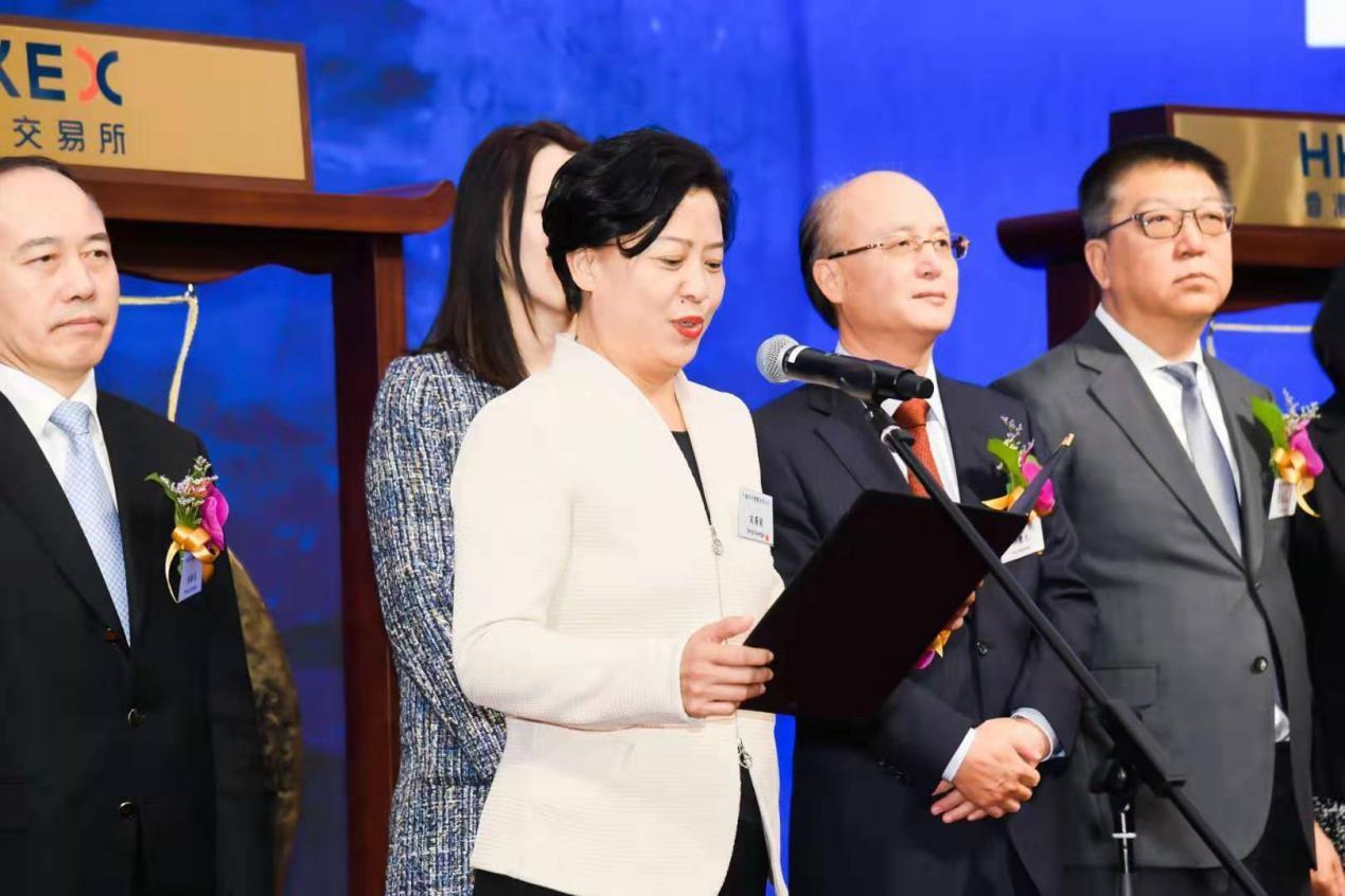 中国保利集团副总经理、保利发展控股集团董事长宋广菊致辞