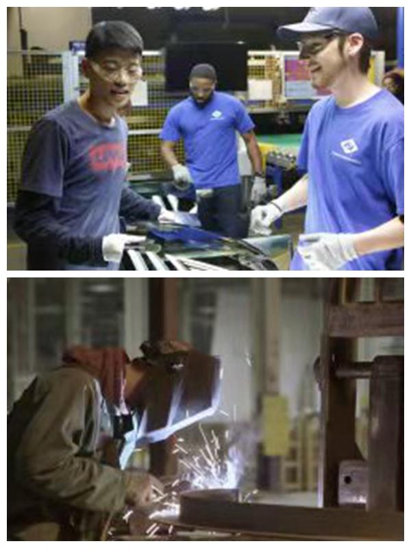 《美国工厂》部分场景剧照。