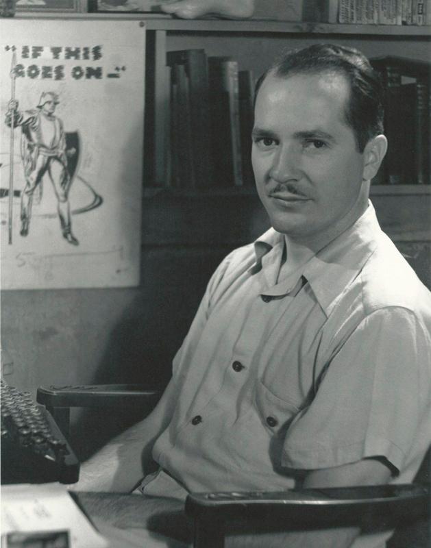 20 世纪科幻三宗师中年龄最大的罗伯特·海因莱因