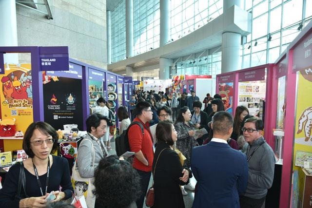 今年的香港国际授权展吸引了超过两万名业内人士参加  香港特区贸易发展局供图