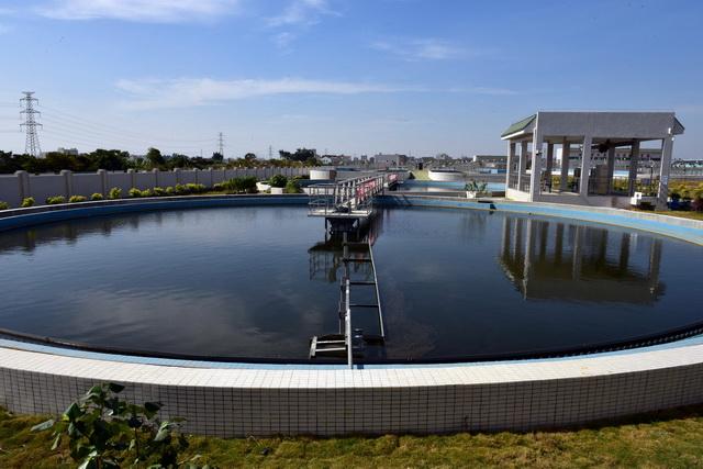 汕头市谷饶浑水处理厂。摄影/章轲