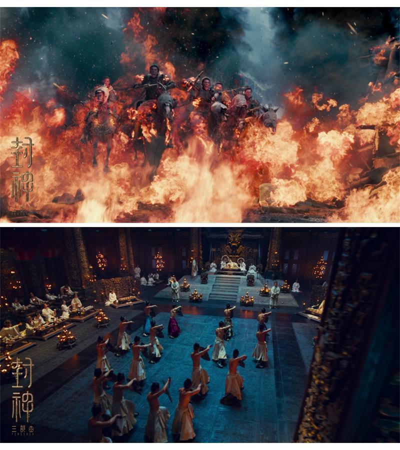 《封神》三部曲总投资额高达30亿元,第一部预计将于今年上映。