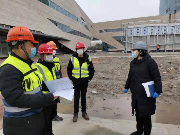 """""""2月80个项目准备复工,临港新片区开展工地疫情防控检查"""