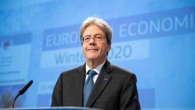 欧盟经济专员真蒂洛尼(Paolo Gentiloni)   来源:欧盟委员会
