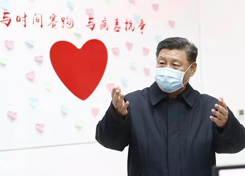 (图为习近平主席在向阳区疾病预防限制中央调研。 新华社记者 刘彬 摄)