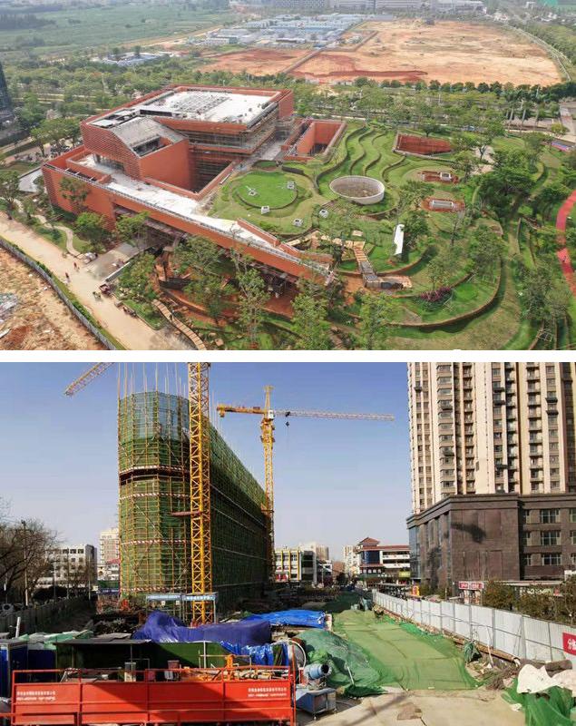 SUP素朴建筑工作室正在施工阶段的项目分布在海南与济南,目前都处于停滞状态。