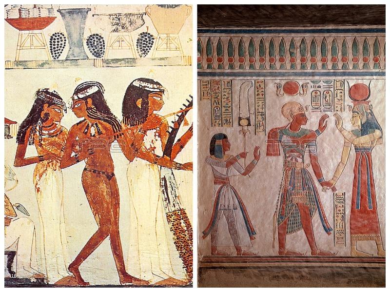 古埃及绘画中的女性形象