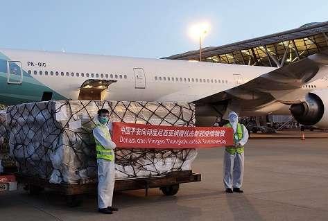 """""""抗疫无国界,中国平安驰援印尼首批抗疫物资今日顺利抵达"""