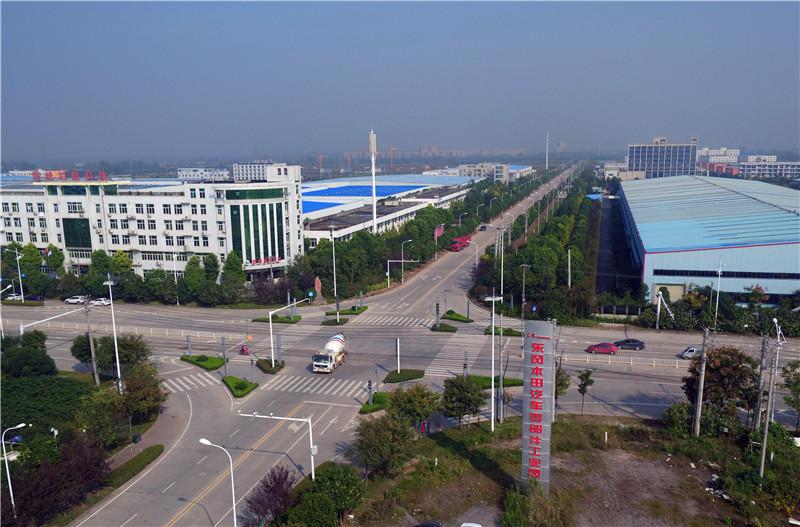 武汉开发区汽车零部件工业园全景。(图/武汉开发区官网)