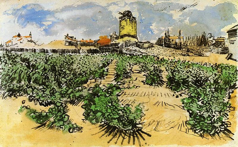 都德常年生活在法国南方普罗旺斯乡间,正是这座罗讷河谷中的旧磨坊,激发了他的乡土情怀,写出了名作《磨坊信札》。