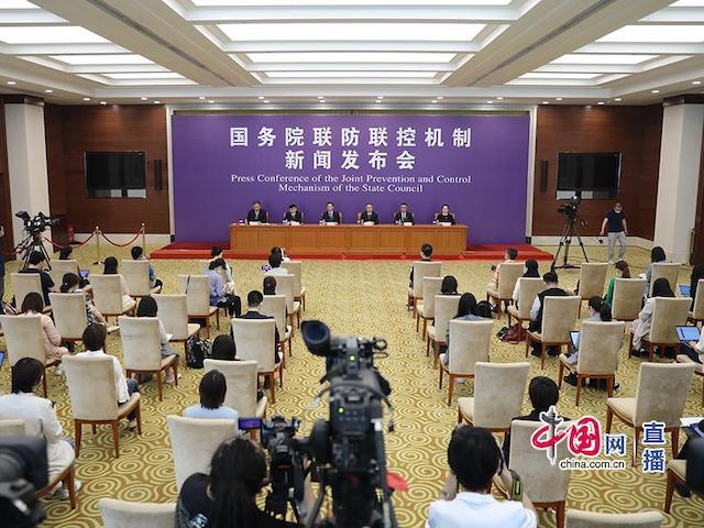 国务院联防联控机制就上海市疫情防控做事举走发布会。