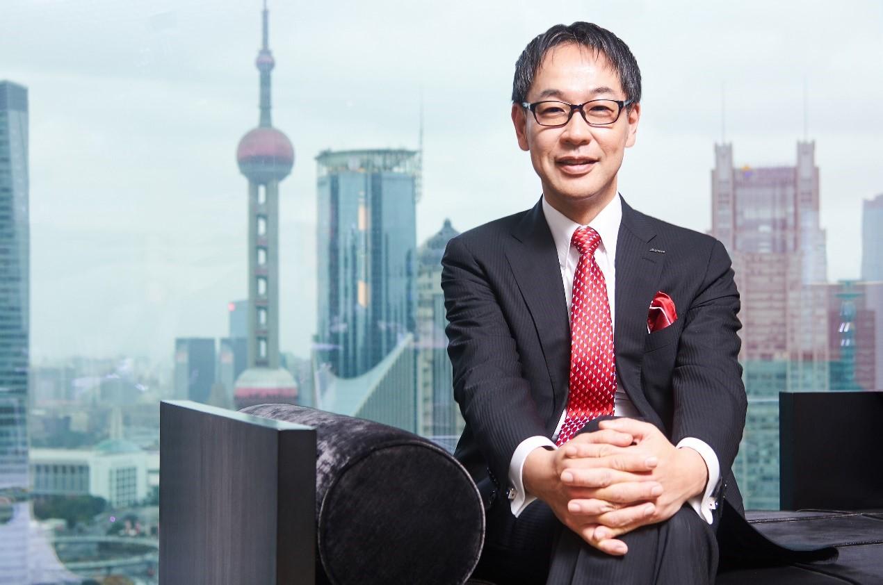 资生堂中国区总裁:藤原宪太郎