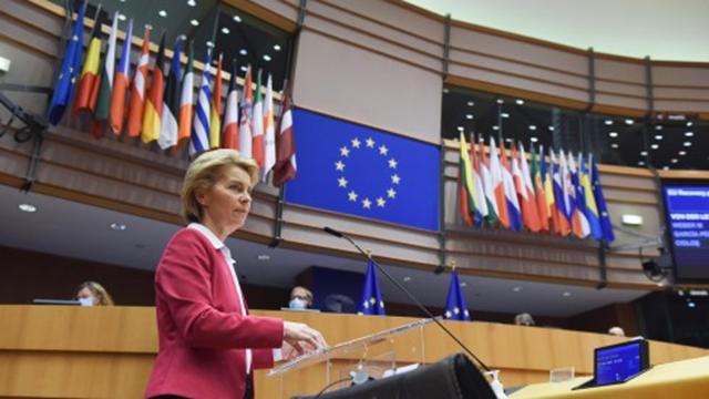 """欧盟委员会(下称""""欧委会"""")17日宣布,将动用达20亿欧元的紧急资金,与制药公司签署一系列预购候选疫苗协议"""