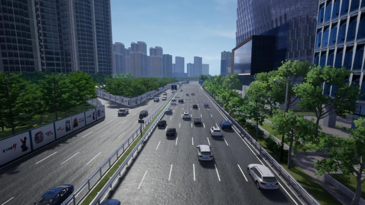 TAD Sim 2.0仿真深圳城市道路交通