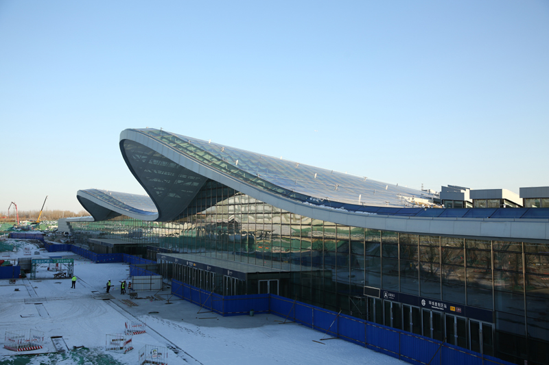 建设中的北京环球度假区