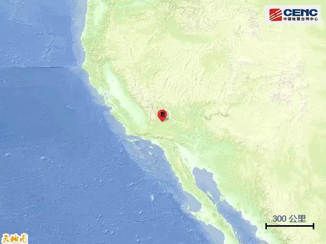 △地震震中地理位置暗示图(图片来源:中国地震台网)