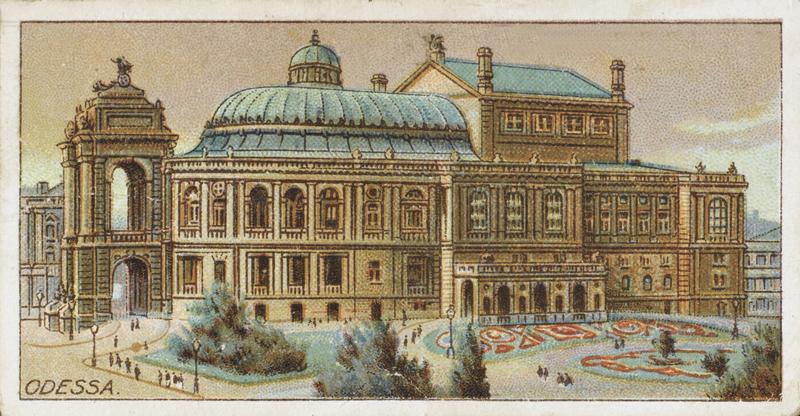 敖德萨国家歌剧和芭蕾舞学术剧院是敖德萨最古老的剧院   东方IC图