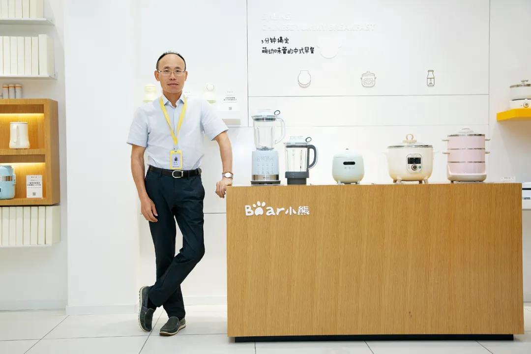 △小熊电器总经理李一峰,这家公司幸运的赶上了电商红利,也把握住了年轻人的生活方式。