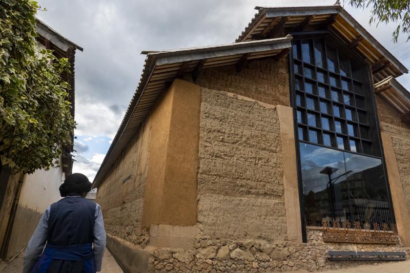 先锋沙溪白族书局的前身是一个村民集体使用的粮食加工作坊    摄影/王馨
