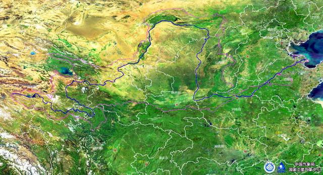 黄河流域图 资料来源:中国气象局