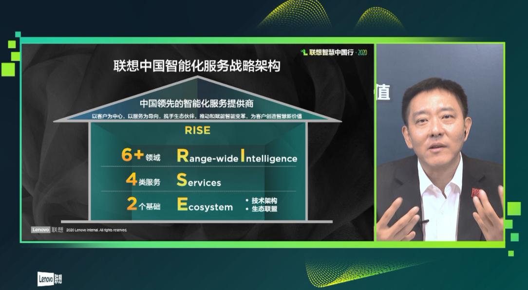 联想刘军云上解读RISE智能化服务战略