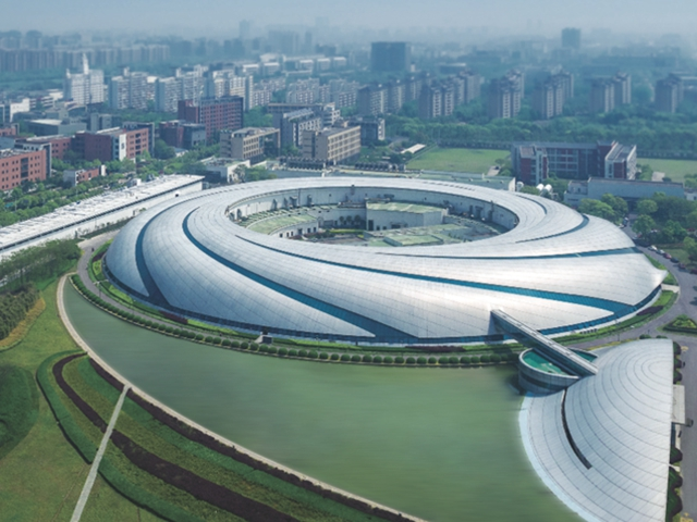 位于上海张江的上海光源