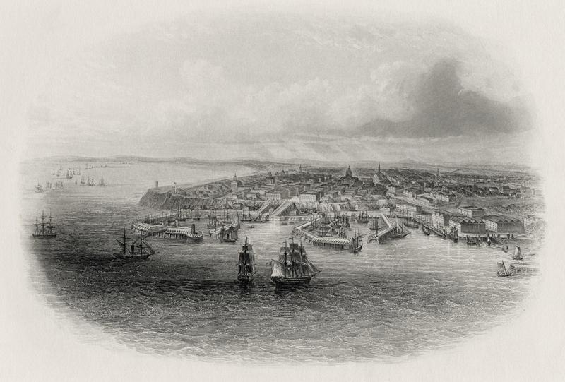 19世纪的敖德萨   东方IC图