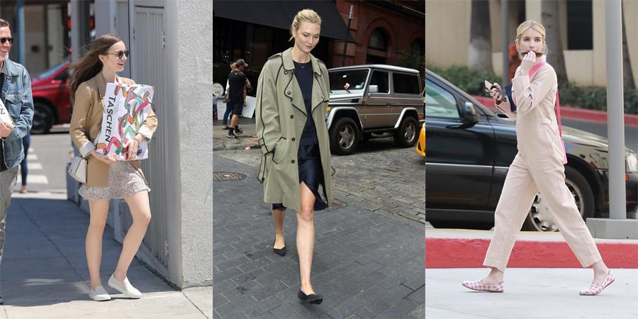 2015 年起,不少名流开始穿着Rothy's 的鞋出现在街头