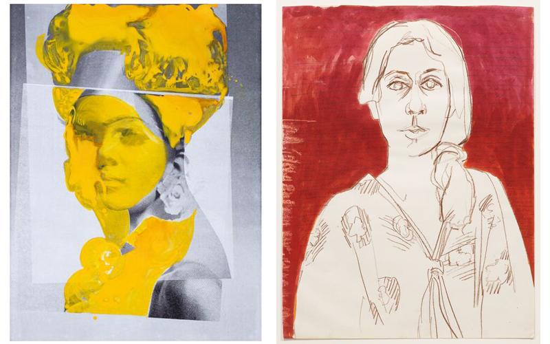 豪瑟沃斯香港和纽约画廊正在展出的艺术家个展