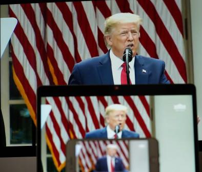 """在今年的联合国大会上,美国和伊朗两国领导人""""隔空交火""""。"""