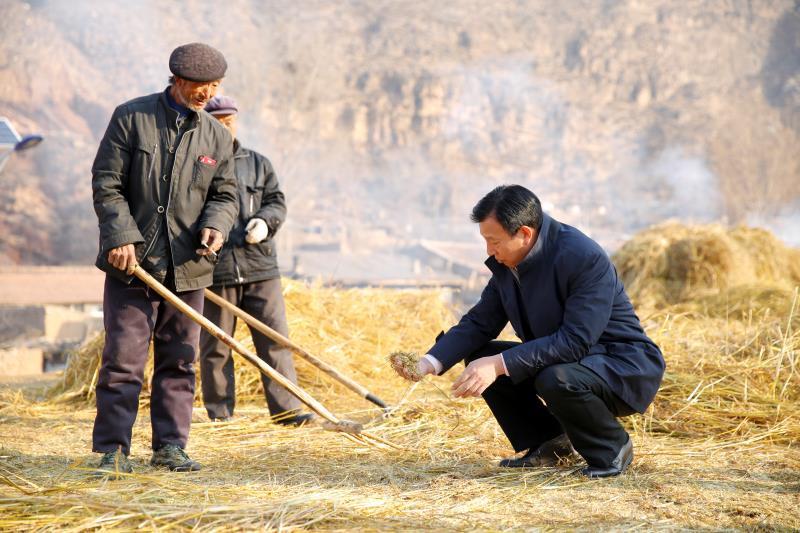 益海嘉里在蔚县考察