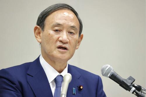 就任日本首相一个月还不到,菅义伟的考验就来了。