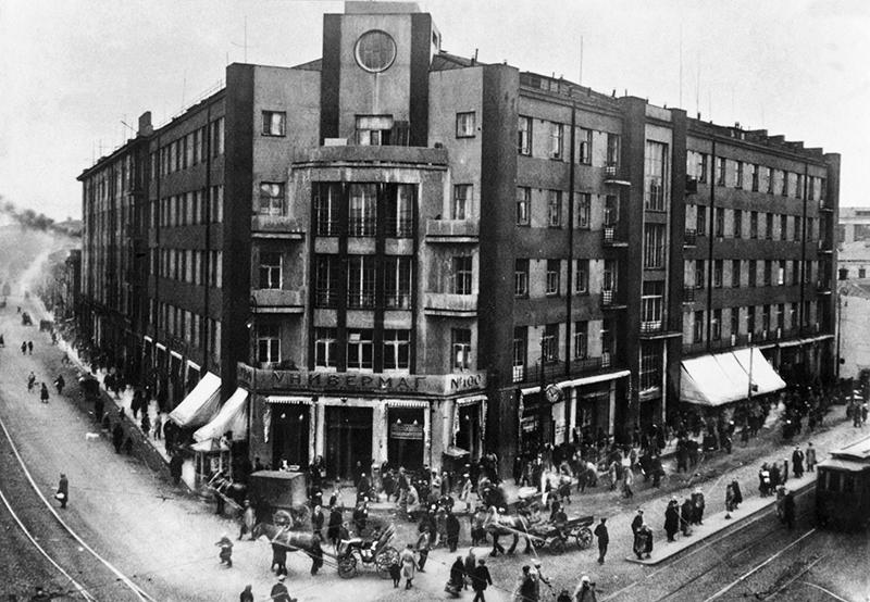 外宾商店1930年诞生,1936年关闭