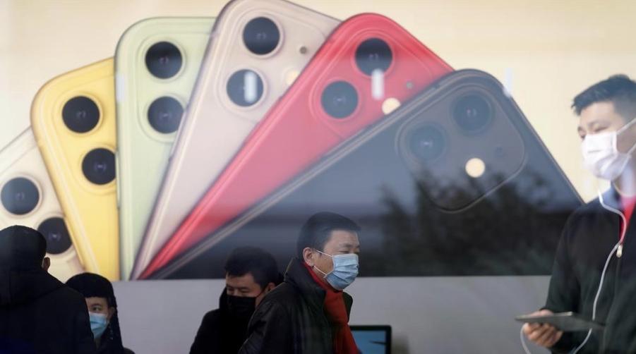 苹果iPhone销量创两年最大降幅 市值一夜蒸发千亿美元