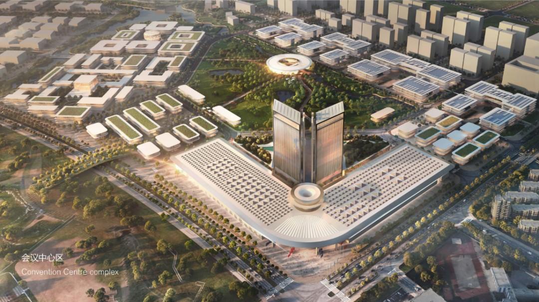 顶尖科学家社区会议中心区设计意向图