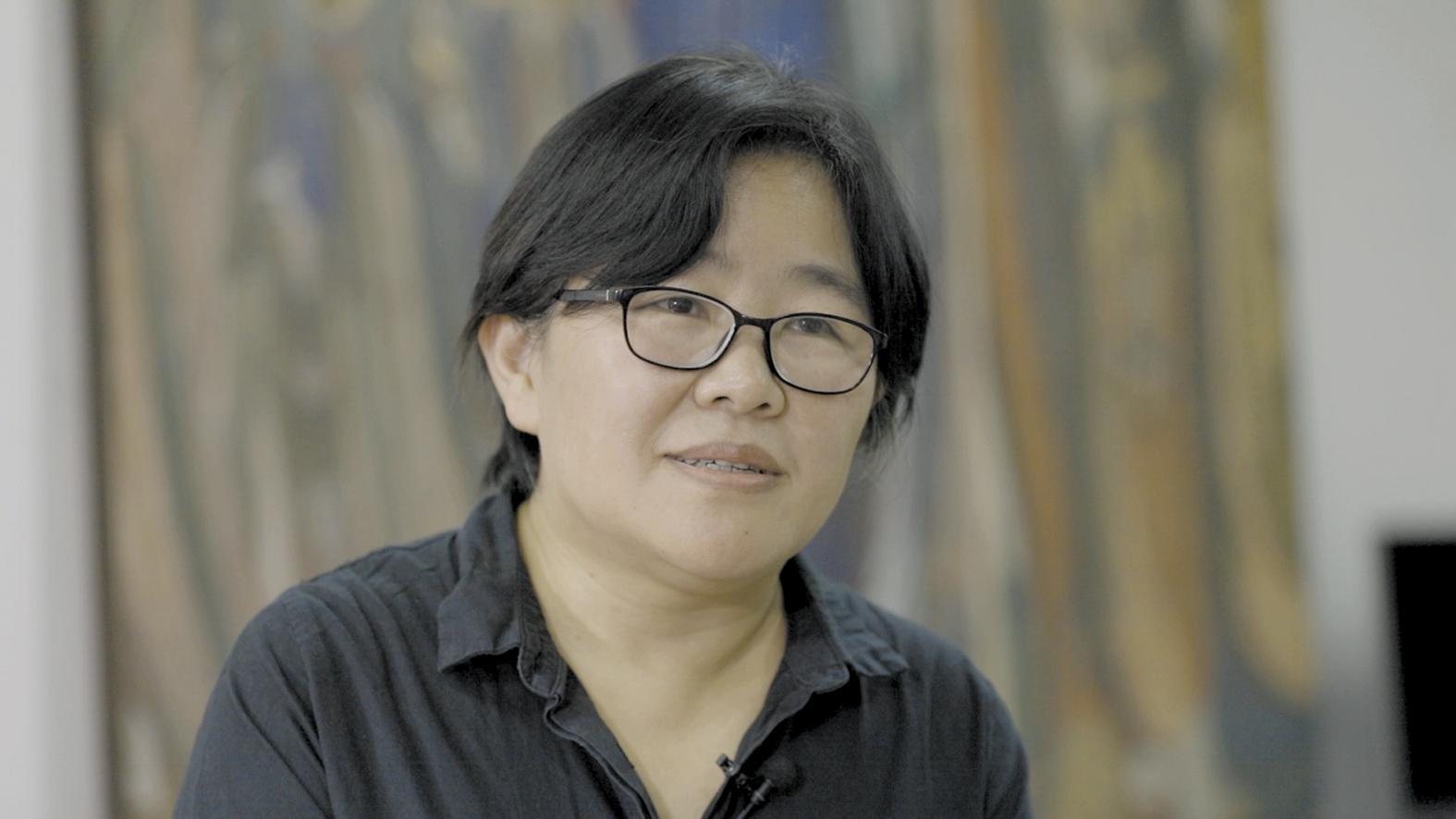 受当地当局委托,徐海翔和她的团队曾深入钻研东乡刺绣,并进走有关产品开发    摄影/张健 任玉明 吴军 周海涛