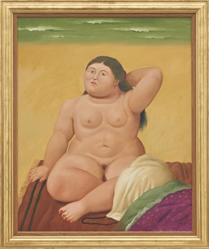 费尔南多·博特罗《海滩》