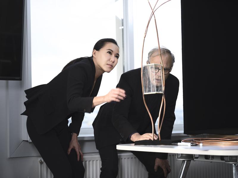 Cindy Chao与Tom Postma