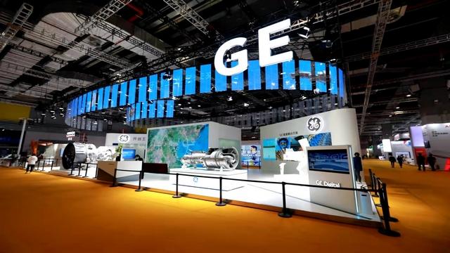 GE在本届进博会上带来了诸多首发、首展产品(任玉明/摄)