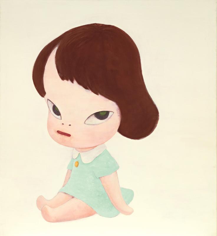 奈良美智《温室女孩》