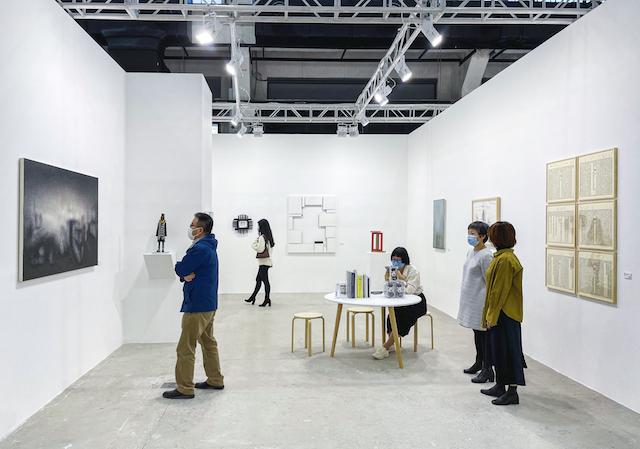 東京画廊+BTAP展位,韩国艺术家李镇雨的作品令人印象深刻  主办方供图
