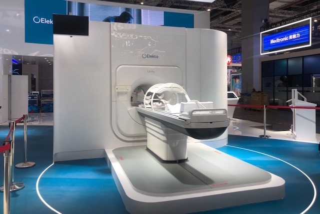 医科达高场强磁共振放疗体系Elekta Unity。战磊/摄