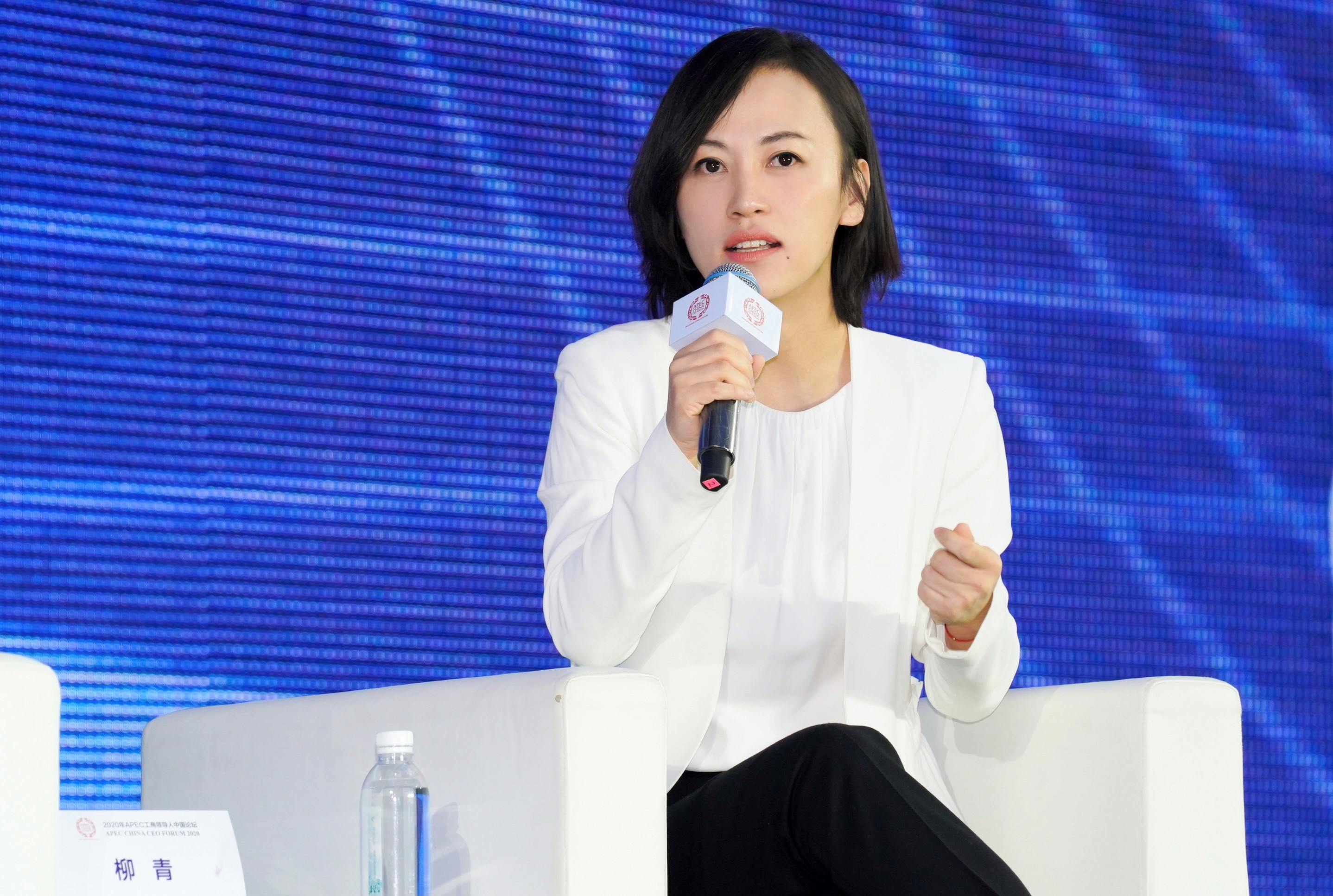滴滴总裁柳青表示创新的目标是发展民生