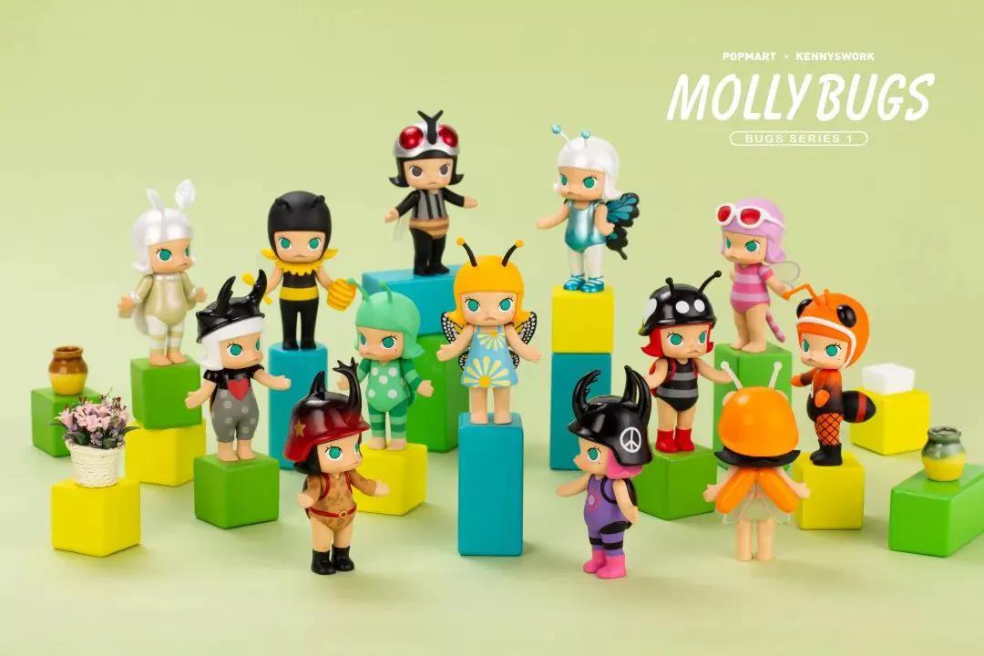Molly系列是泡泡玛特的招牌。