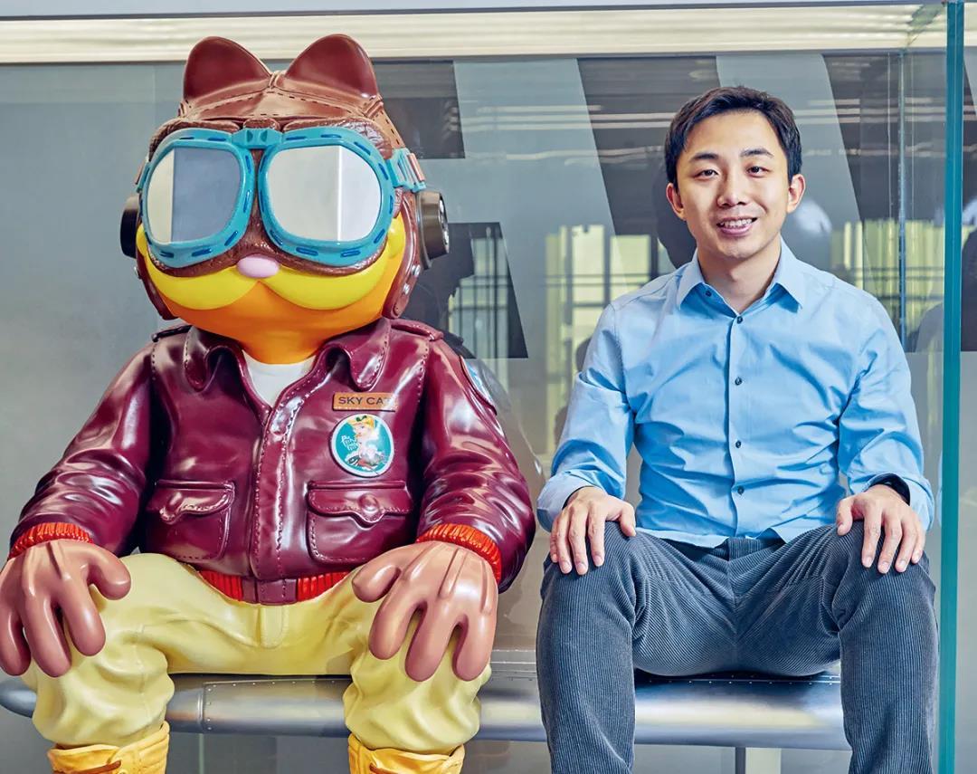 泡泡玛特创始人、董事长兼CEO王宁。