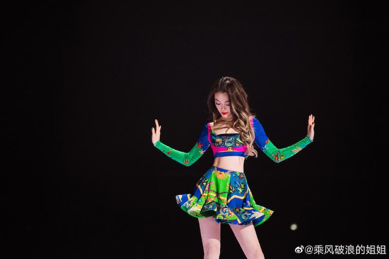 容祖儿在《乘风破浪的姐姐》舞台
