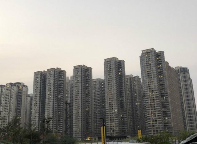 广州广钢新城某楼盘。摄影/林小昭