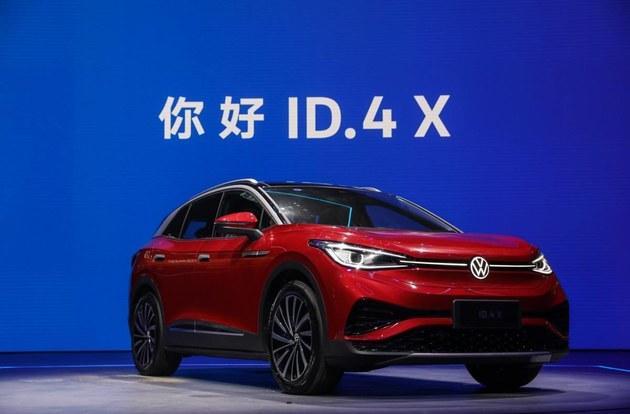 大众电动车开启家族式作战,ID.4 X销量目标挑战 Model Y