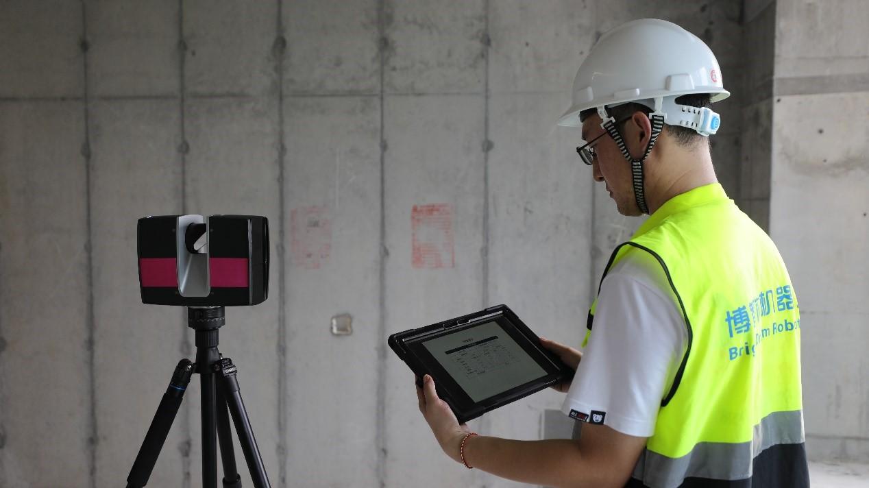 测量机器人施工作业