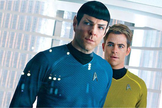 《星际迷航》中的Kirk和Spock
